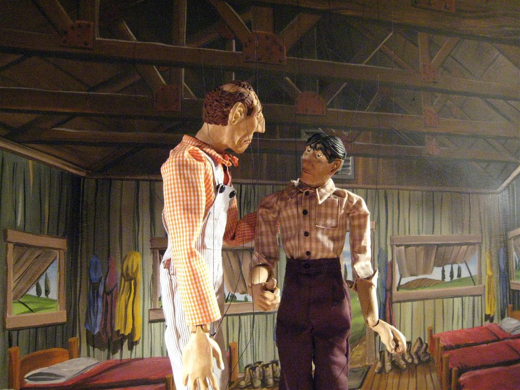 Lennie & George from Of Mice and Men (Performed in 2012) -- PDX Local